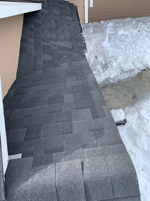 Wind Damage Roof Spokane Valley Wa Hometown Roofing Systems